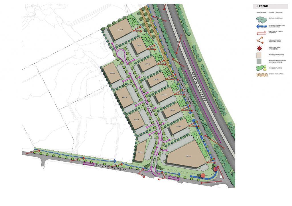 Statement of Landscape Intent - Landscape Site Analysis Plan